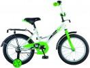 Велосипед 16' NOVATRACK STRIKE белый-зеленый 163 STRIKE.WTG 20