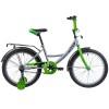 Велосипед 20' NOVATRACK VECTOR серебристый 203 VECTOR.SL 9