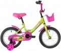 Велосипед 16' NOVATRACK TWIST зеленый, + корзина 161 TWIST.GNP 20