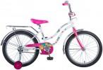 Велосипед 20' NOVATRACK TETRIS белый+ корзина 201 TETRIS.WT 20 (20)