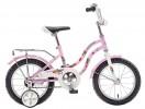 Велосипед 14' NOVATRACK TETRIS розовый+ корзина 141 TETRIS.PN 20