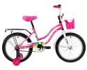 Велосипед 18' NOVATRACK TETRIS розовый+ корзина 181 TETRIS.PN 20