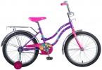 Велосипед 20' NOVATRACK TETRIS фиолетовый+ корзина 201 TETRIS.VL 20