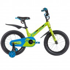 Велосипед 16' рама алюминий NOVATRACK BLAST зеленый 165 MBLAST.GN 9