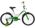 Велосипед 20' NOVATRACK STRIKE белый-зеленый 203 STRIKE.WTG 20