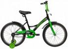 Велосипед 20' NOVATRACK STRIKE черный-зеленый 203 STRIKE.BKG 20