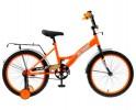 Велосипед 20' ALTAIR KIDS 20 ярко-оранжевый/белый, 13' RBKT05N01012