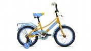 Велосипед 16' FORWARD AZURE 16 желтый/голубой RBKW0LNG1025