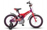 Велосипед 16' STELS JET фиолетовый/оранжевый 2020, 9' Z010 (LU085919)