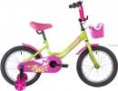 Велосипед 12' NOVATRACK TWIST салатовый 121TWIST.GNP20