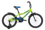Велосипед 20' рама алюминий NOVATRACK CRON зеленый 205ACRON.GN9