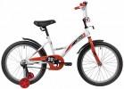 Велосипед 20' NOVATRACK STRIKE белый-красный 203STRIKE.WTR20