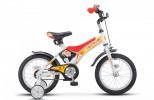 Велосипед 14' STELS JET белый/красный 8,5' Z010/ LU087402