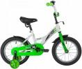 Велосипед 14' NOVATRACK STRIKE белый-зелёный 143STRIKE.WTG20