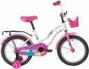 Велосипед 16' NOVATRACK TETRIS белый+ корзина 161TETRIS.WT20