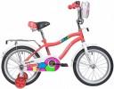 Велосипед 16' NOVATRACK CANDY коралловый 165CANDY.CRL9