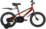 Велосипед 16' NOVATRACK JUSTER красный 165JUSTER.RD21