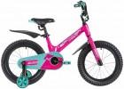 Велосипед 16' рама алюминий NOVATRACK BLAST фуксия 165MBLAST.PR9