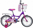 Велосипед 16' NOVATRACK LITTLE GIRLZZ фиолетовый 167GIRLZZ.VL9