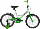 Велосипед 18' NOVATRACK STRIKE черный-зелёный 183STRIKE.BKG20