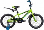 Велосипед 18' рама алюминий NOVATRACK LUMEN зелёный 185ALUMEN.GN9