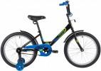 Велосипед 20' NOVATRACK TWIST черный 201TWIST.BK20
