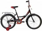 Велосипед 20' NOVATRACK URBAN чёрный 203URBAN.BK20