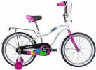 Велосипед 20' NOVATRACK CANDY белый 205CANDY.WT9