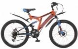 Велосипед STINGER 26' двухподвес, HIGHLANDER D диск, оранжевый, 18' 26 SFD.HILANDISC.18 OR 8