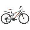 Велосипед 26' двухподвес FORWARD BENFICA 1.0 мат. серый, 18 ск., 18' RBKW7SN6P005