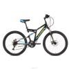 Велосипед STINGER 26' двухподвес, HIGHLANDER D диск, черный, 16' 26 SFD.HILANDISC.16 BK8