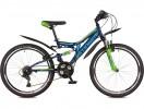 Велосипед STINGER 26' двухподвес, HIGHLANDER 100 V синий, 18' 26 SFV.HILAND 1.18 BL 7