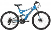 Велосипед STINGER 26' двухподвес, VERSUS синий, 16' 26 SFV.VERSU.16 BL 7