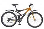 Велосипед STINGER 26' двухподвес, VERSUS оранжевый, 18' 26 SFV.VERSU.18 OR 7