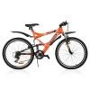 Велосипед STINGER 26' двухподвес, VERSUS оранжевый, 21ск., 20' 26 SFV.VERSU.20 OR 7
