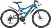 Велосипед STINGER 26' двухподвес, VERSUS D диск, синий, 21 ск., 16' 26 SFD.VERSUD.16 BL 5