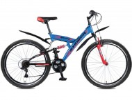 Велосипед 26' двухподвес STINGER BANZAI синий, 18' 26 SFV.BANZAI.18 BL 7