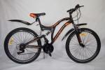 Велосипед 26' двухподвес Иж-Байк Ranger 26 оранжевый, 18ск.