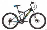 Велосипед 26' двухподвес STINGER HIGHLANDER D диск, черный, 18' 26 SFD.HILANDISC.18 BK 8