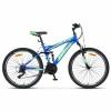 Велосипед 26' двухподвес ДЕСНА-2620 V Синий/зеленый 2019, 16,5' V030 (LU093378)