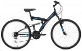 Велосипед 26' двухподвес MIKADO Explorer V-brake, черный,18' 26SFV.EXPLORER.18BK1