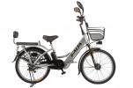 Электровелосипед 2-х колесный (велогибрид) Eltreco e-ALFA  gray-0277