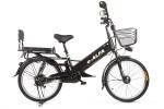Электровелосипед 2-х колесный (велогибрид) Eltreco e-ALFA GL matt black-0333