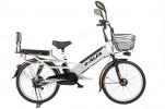Электровелосипед 2-х колесный (велогибрид) Eltreco e-ALFA GL gray-0276