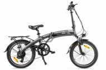Электровелосипед 2-х колесный (велогибрид) Eltreco LETO matt black-1929