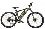 Электровелосипед 2-х колесный (велогибрид) KUPPER Unicorn green-black-0302