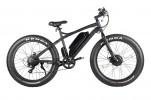 Электровелосипед 2-х колесный (велогибрид) VOLTECO BIGCAT DUAL NEW matt black-1945