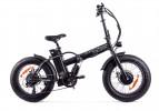 Электровелосипед 2-х колесный (велогибрид) WELLNESS BAD DUAL NEW matt black-1948