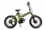 Электровелосипед 2-х колесный (велогибрид) WELLNESS BAD DUAL NEW army green-1950