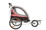 Велоприцеп для перевозки 2-х детей VIC-1302 (BTA 19) Красный-1003